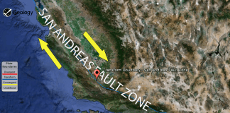 San Andreas Fault Zone
