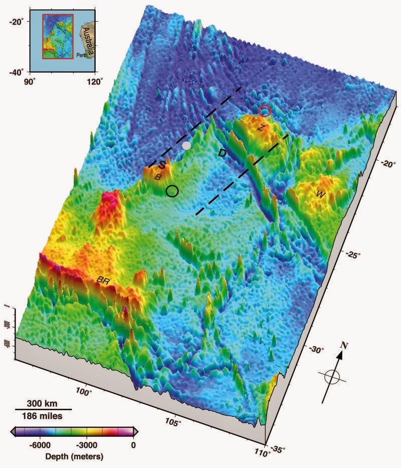 Seafloor Experts Publish New View Of Zone Where Malaysia