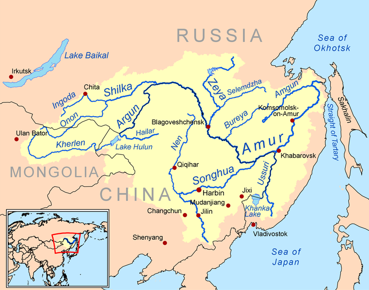 Amur River Geology Page