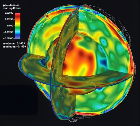 Seismic study aims to map Earth's interior in 3-D | Geology Page on