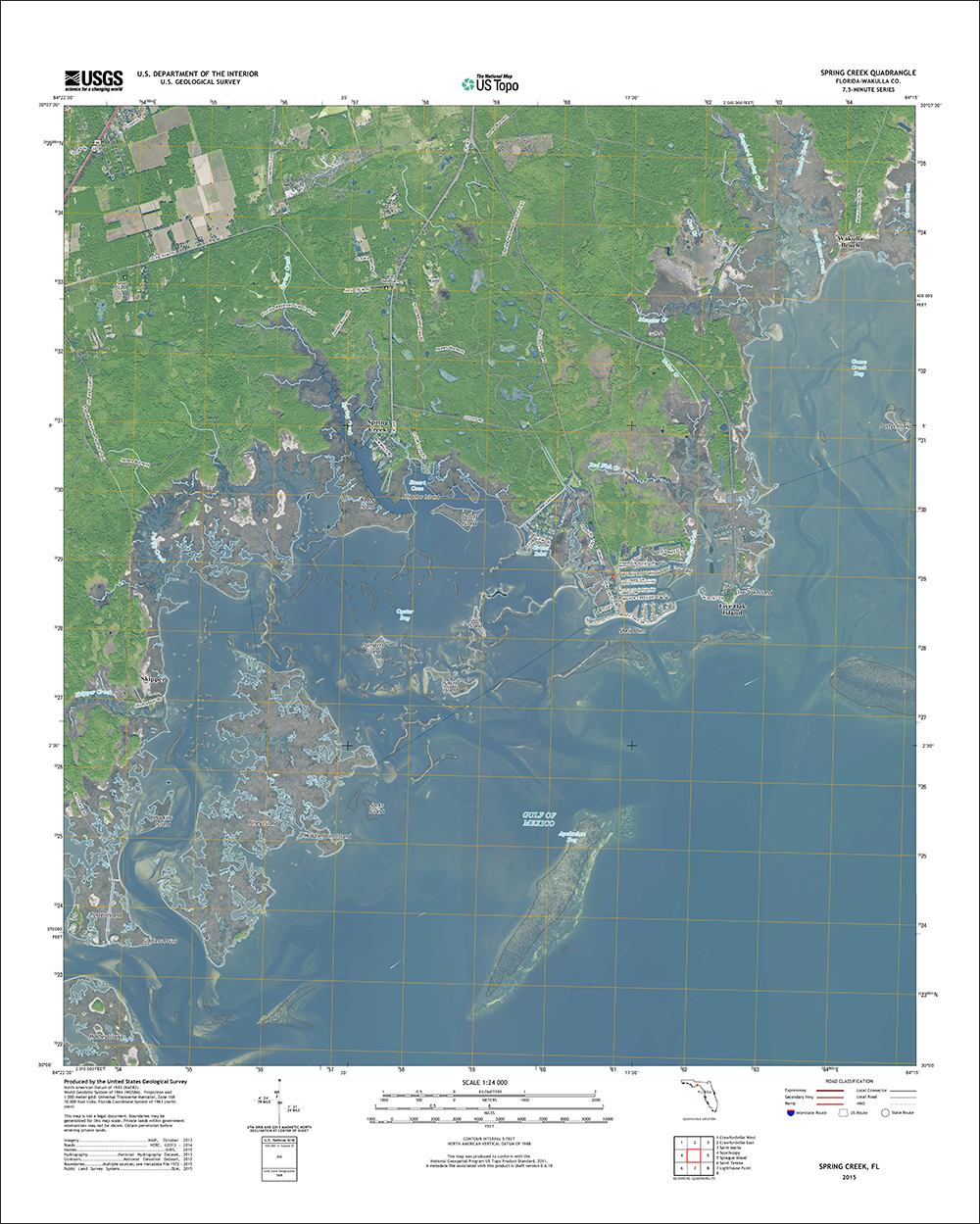 New Sunshine State Maps Add U.S. Forest Service Data | Geology Page