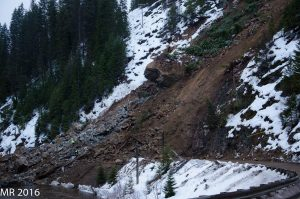 Landslide west of Elk City buries section of Idaho 14 in tons of debris2