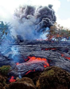 Lava flow crisis averted-GeologyPage