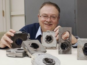 Senior Research Engineer explores-Geologypage
