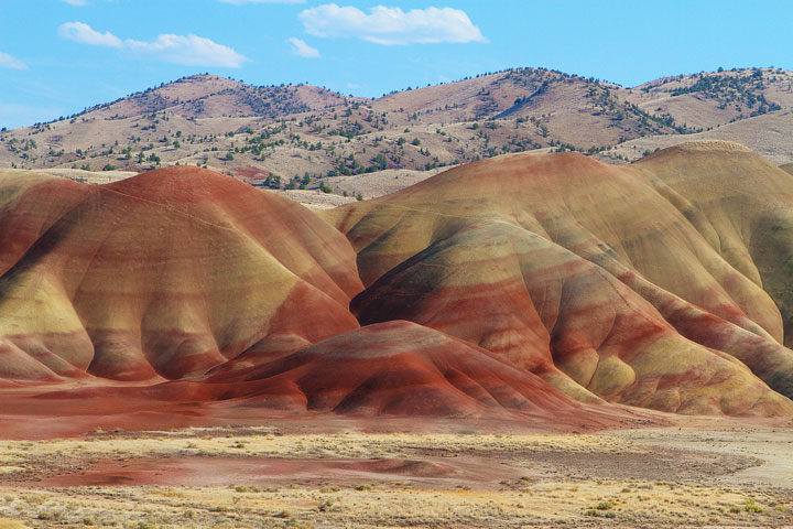 Painted Hills, Northwest United States | Geology Page