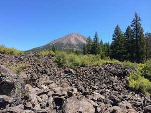 Researchers at NMSU are analyzing samples from Mount McLoughlin in southern Oregon, as part of a three-year grant from the National Science Foundation to study the origins of magma in the Cascade Arc. (Courtesy photo) MAY16