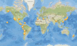 Japanese-language MyShake-GeologyPage