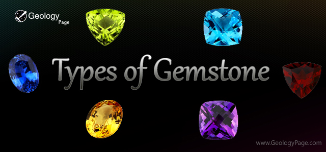 Types Of Gemstone Geology Page