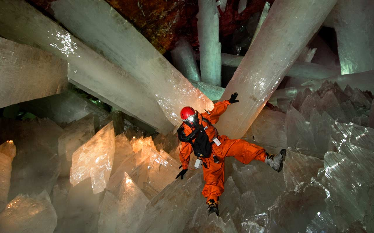 Cave of Huge Crystals