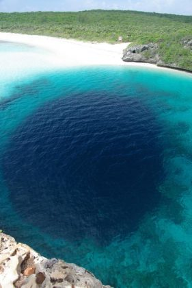 Dean S Blue Hole Geology Page