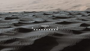sand ripples on Mars-GeologyPage
