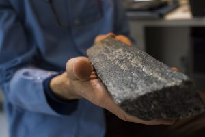 Samples of the world's oldest precisely dated rock Credit: Image courtesy of University of Alberta