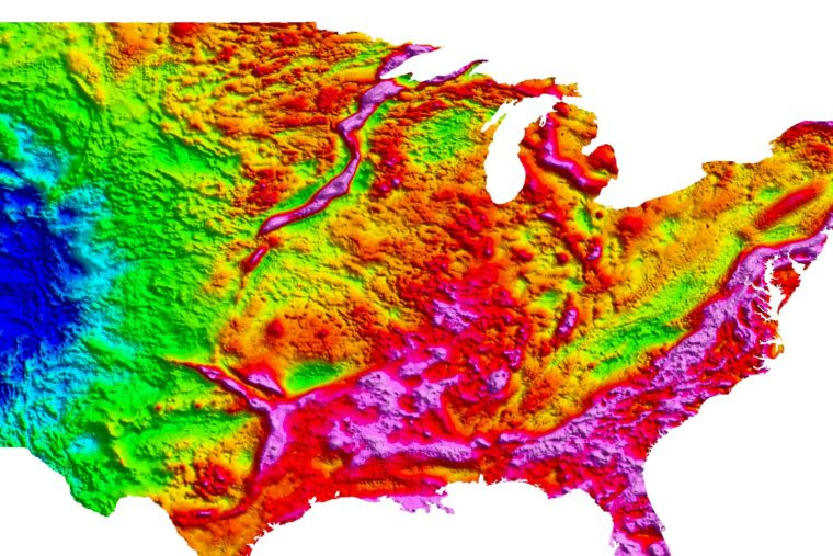 Seismometers are giving scientists a clearer look at a giant scar under the American Midwest
