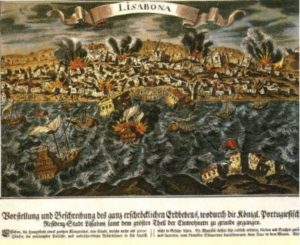 Lisbon 1755, from the archives of Art and History, Berlin