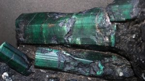 The 180,000-carat Bahia Emerald has been the subject of a contentious court battle between a colorful crowd of gem traders, miners and a real estate tycoon all vying for the prized jewel -- once valued at $372 million. Credit: Los Angeles County Sheriff's Department