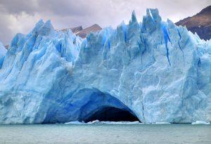 Representative Image: A Glacier cave on Perito Moreno Glacier, in Los Glaciares National Park, southern Argentina. Credit: Martin St-Amant/Wikipedia