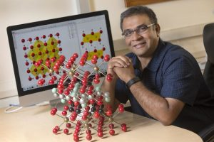 FSU Assistant Professor of Geology Mainak Mookherjee reports that water exists far deeper in the Earth than scientists previously thought. Credit: Bruce Palmer/Florida State University
