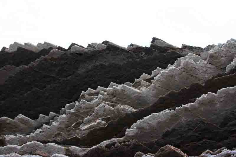 Flysch Rock Formation Zumaia Spain Geology Page