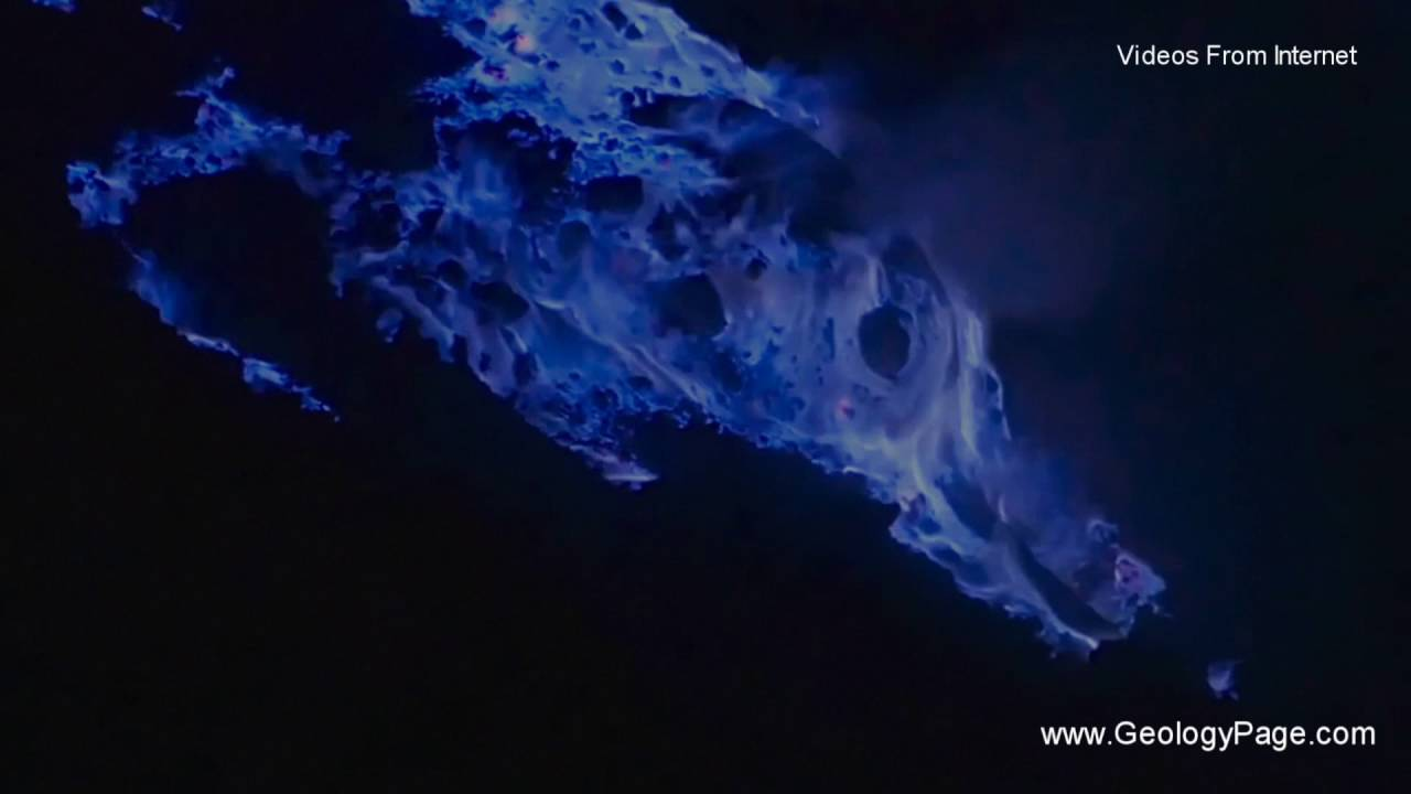 Blue Lava Geology Page