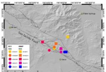 Locations of tectonic tremor
