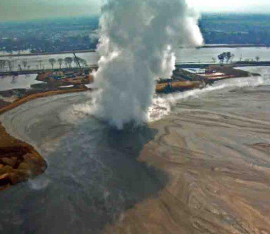 mud eruption