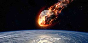 Asteroid impact earth