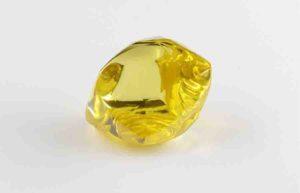 Yellow Rough Diamond