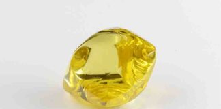 Yellow Rough Diamond