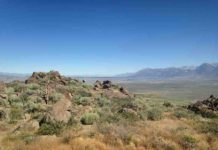 Long Valley Caldera in California