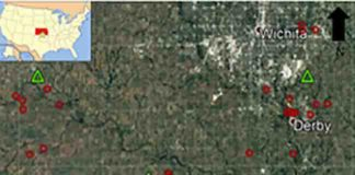The number of earthquakes striking south-central Kansas has skyrocketed