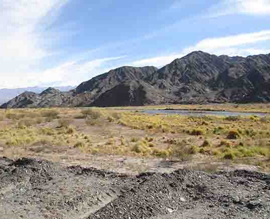 The Rio San Juan transports sediment from the High Andes