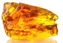 Sample of amber