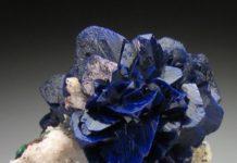 """Azurite """"Flower"""""""