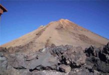 The summit of the Teida volcano.