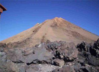 The summit of the Teida volcano.