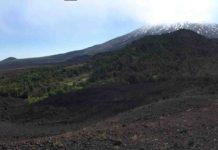 Panoramic of Mt Etna, Sicily