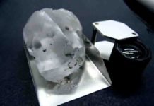 A diamond thought to be the fifth largest of gem quality ever found has been discovered in Lesotho