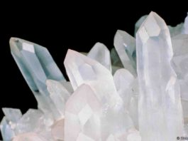 Quartz is one of the most common crystals on Earth