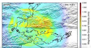 Earthquake simulation