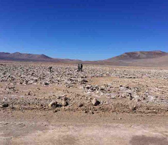 Hyperarid core of the Atacama Desert.