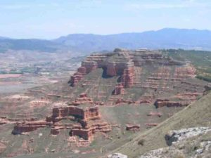 Calatayud-Daroca Basin in Central Spain.