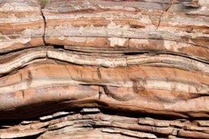 Sediment layers