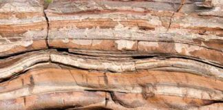 Sediment layers