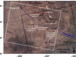 A new study by an SMU geophysical team found alarming rates of ground movement at various locations across a 4000-square-mile area of four Texas counties.