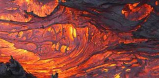 """Lava"" Earth's mantle"