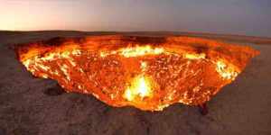 "Door to Hell ""Gate to Hell"" – Turkmenistan"