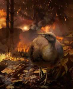 The asteroid impact that eliminated non-avian dinosaurs destroyed global forests.