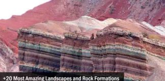 Amazing Landscapes and Rock Formations