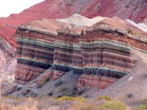 Cerro de los Siete Colores The Hill of Seven Colors, Argentina