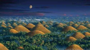 Chocolate Hills, the Philippines
